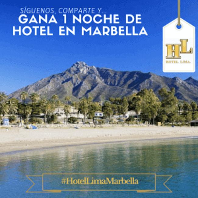 Gana una noche de hotel en Marbella
