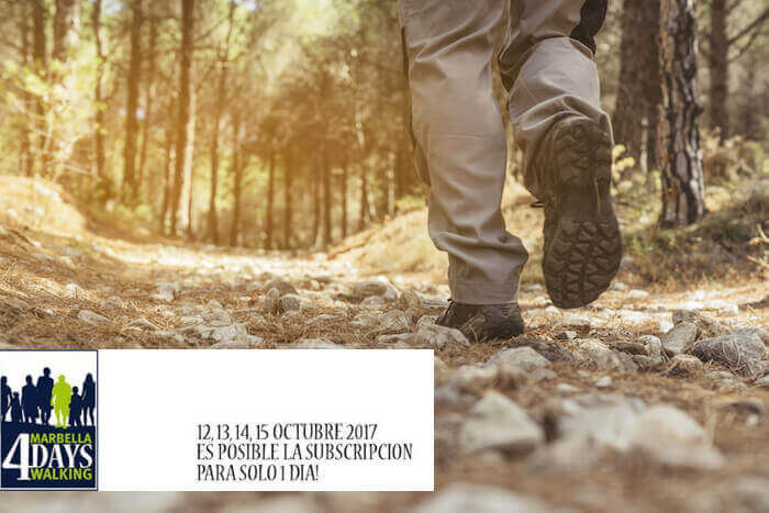 4 days walking marbella 2017