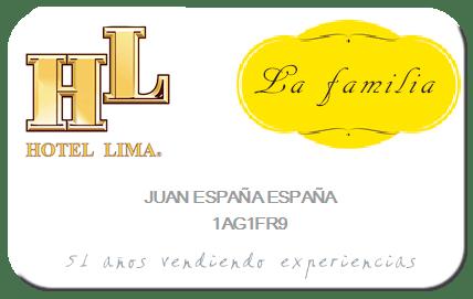 Lima Family Card