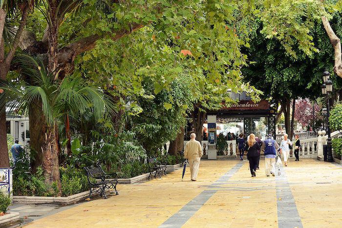 Avenida de la Alameda Marbella