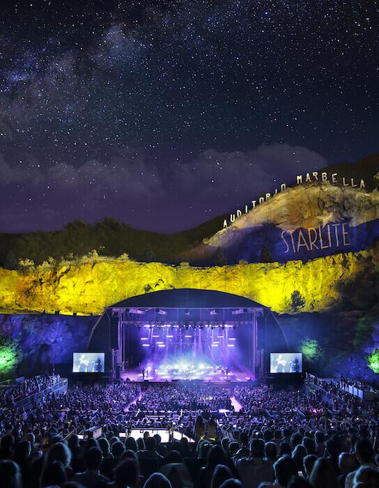 Conciertos Auditorio Starlite Festival