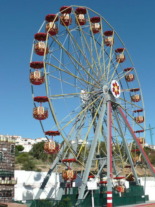 Parque de atracciones y acuáticos en Málaga