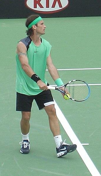 Tenista Carlos Moya