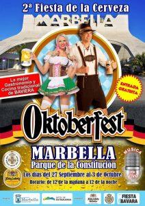 Cartel Oktoberfest Marbella 2018