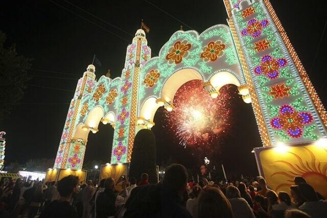 Alumbrado Feria San Pedro Alcántara 2018
