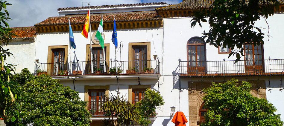 Historia del Ayuntamiento de Marbella