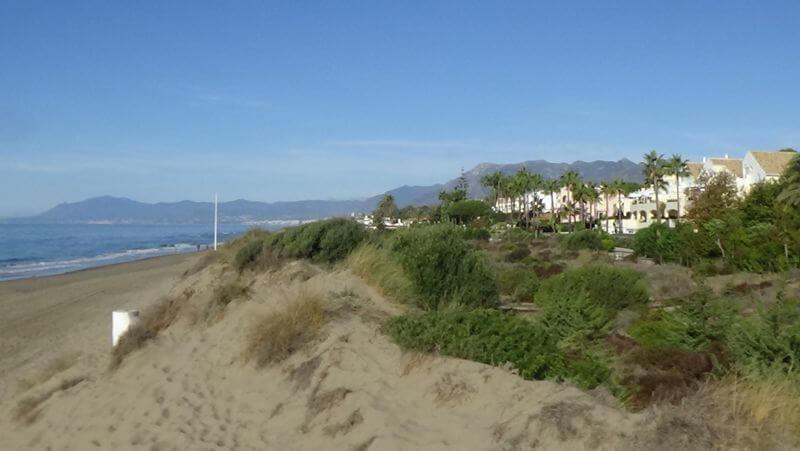 Playa la Víbora Marbella