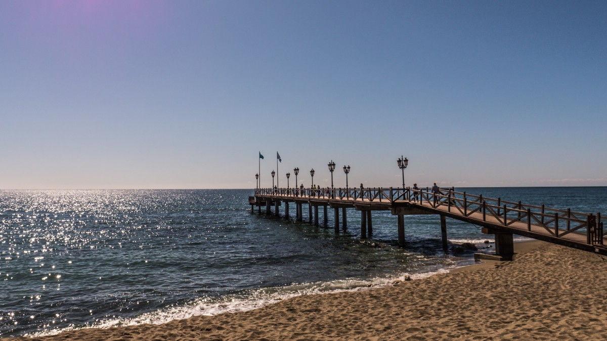 Playa de Nagüeles en Marbella