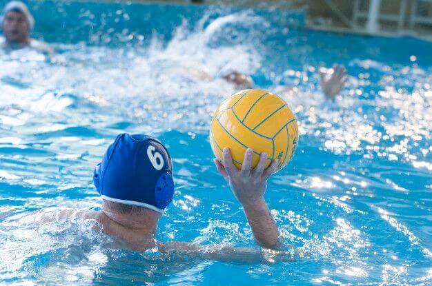Jugador Torneo europeo waterpolo Marbella 2020