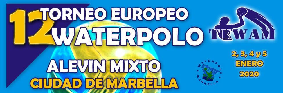 Torneo europeo waterpolo Marbella 2020