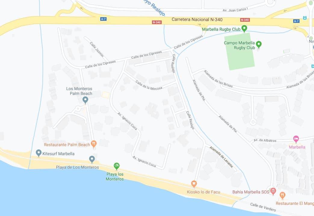 Playa Los Monteros
