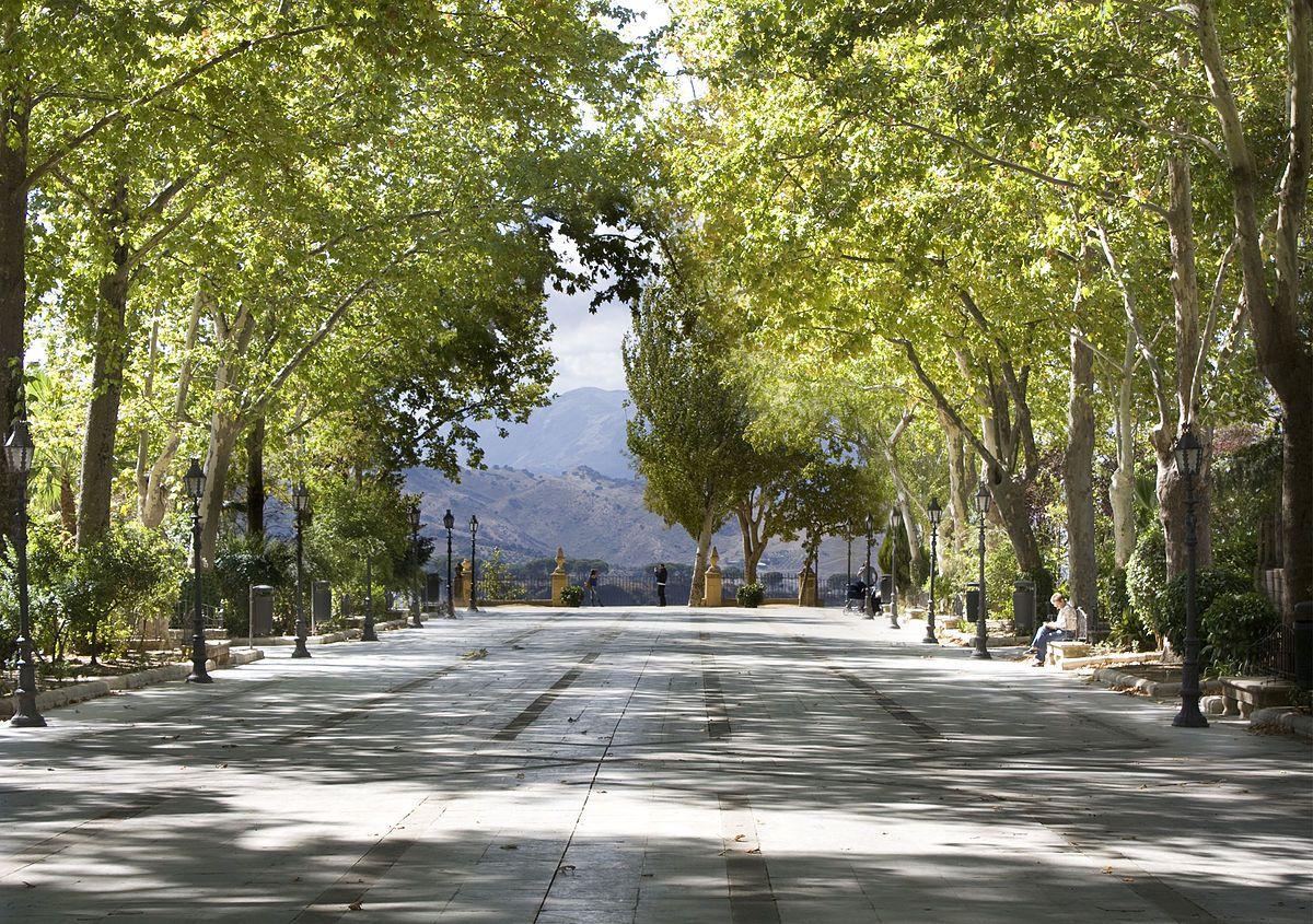 Parque Alameda del Tajo en Ronda