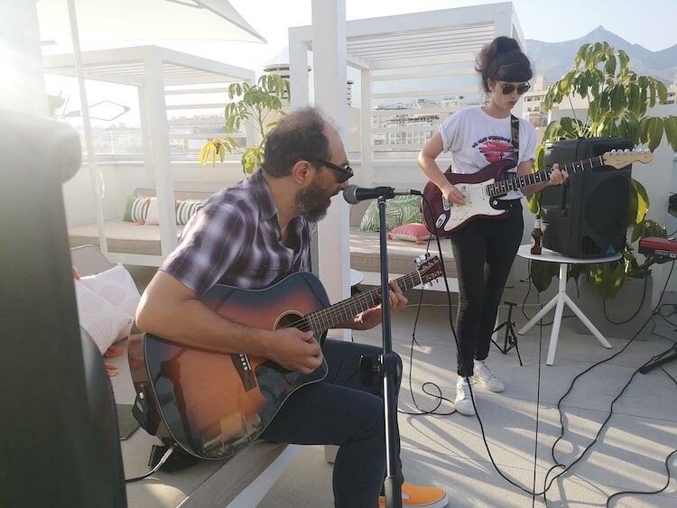Concierto de Jota (Los Planetas) en Rooftop Virazon