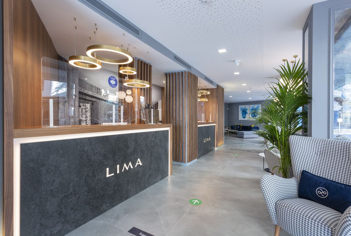 Equipo profesional en Hotel Lima