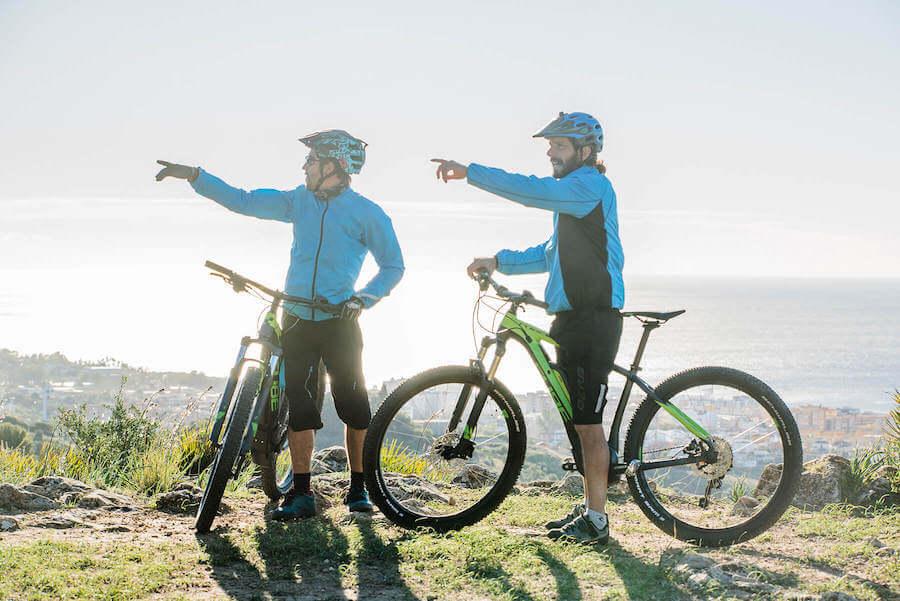 Ruta en bicicleta en Marbella
